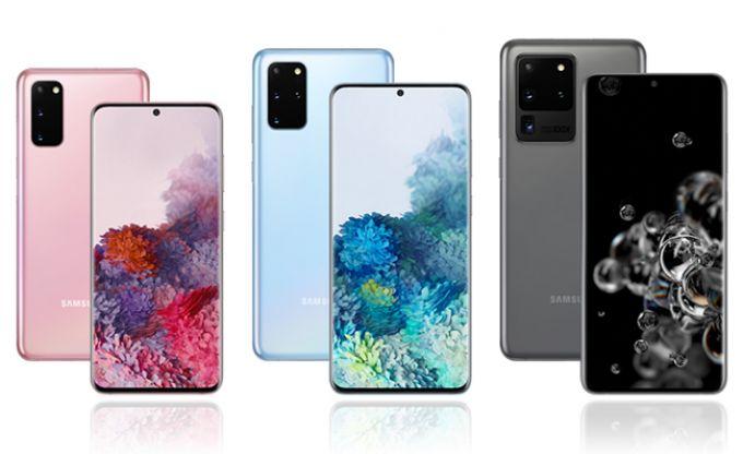 Samsung Galaxy S20 5G range compared