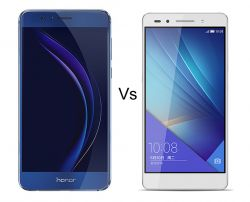 Honor 8 vs Honor 7