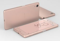 Stand out from the crowd with the Sony Xperia X in rose gold